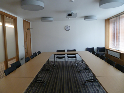 2.54 is a Tutorial room located on the second floor of 50 George.