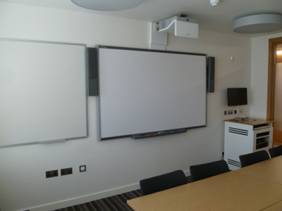 3.13 is a Tutorial room located on the second floor of 50 George Square.