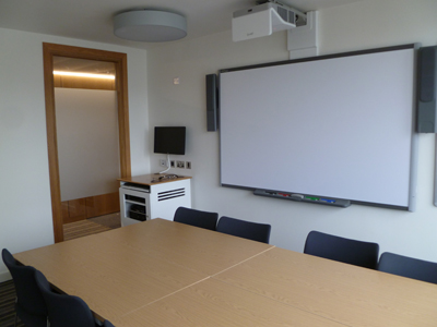 3.30 is a Tutorial room located on the second floor of 50 George. Square.