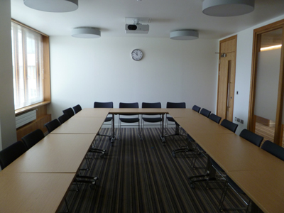 3.39 is a Tutorial room located on the second floor of 50 George. Square.