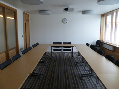 3.54 is a Tutorial room located on the second floor of 50 George. Square.