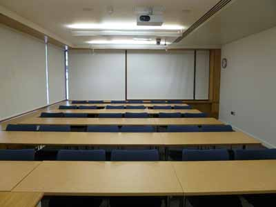 G.01 is a Classroom located on the ground floor of 50 George Square.