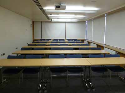 G.02 is a Classroom located on the ground floor of 50 George Square.