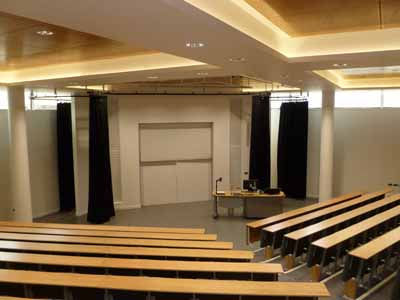 Lecture Theatre G.03 is located on the ground floor of 50 George Square.
