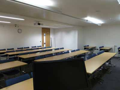 G.05 is a Classroom located on the ground floor of 50 George Square.