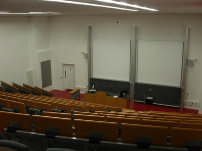 Lecture Theatre 1 is a Lecture Theate located on the ground floor of Appleton Tower.