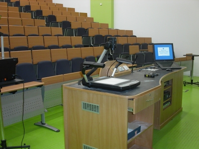 Lecture Theatre 2 is a Lecture Theate located on the ground floor of Appleton Tower.