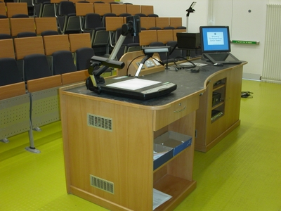 Lecture Theatre 3 is a Lecture Theate located on the ground floor of Appleton Tower.