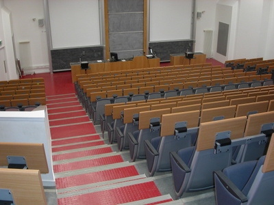 Lecture Theatre 4 is a Lecture Theate located on the first floor of Appleton Tower.