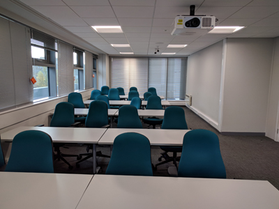 Room M3 is a Tutorial Room located on the mezzanine level of Appleton Tower.