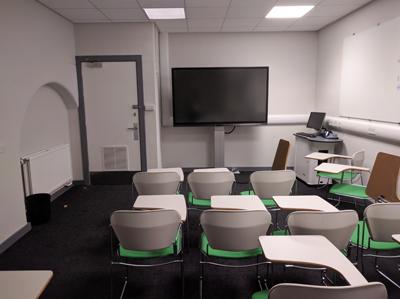 Medical School, Teviot (Doorway 3) G.203 Teaching Room 2