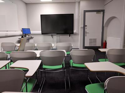 Medical School, Teviot (Doorway 3) G.204 Teaching Room 1