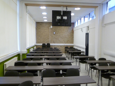 Classroom 4 is a classroom located on the ground floor of the Hudson beare Building