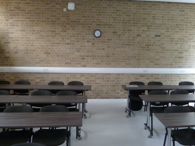 Classroom 7 is a classroom located on the ground floor of the Hudson beare Building