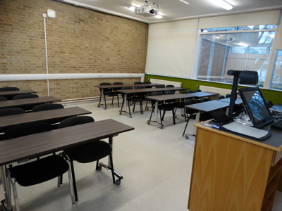 Classroom 6 is a classroom located on the ground floor of the Hudson beare Building