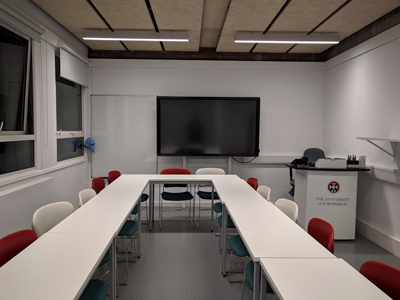2.4 is a Tutorial Room located on the 2nd level of Lister Learning and Teaching Centre