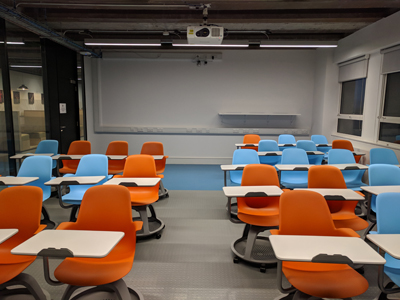 4.1 is a Tutorial Room located on the 4th level of Lister Learning and Teaching Centre
