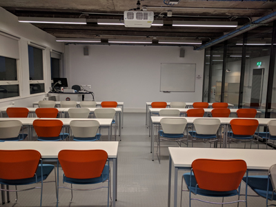 4.2 is a Tutorial Room located on the 4th level of Lister Learning and Teaching Centre