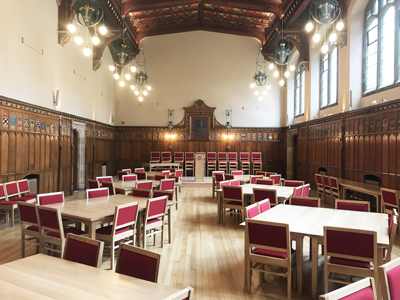 New College Rainy Hall