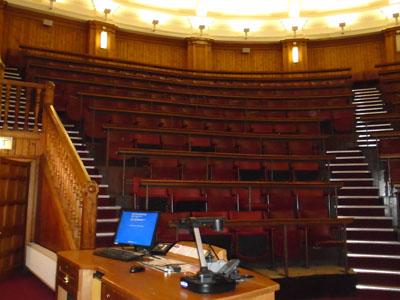 Medical School, Teviot (Doorway 3) Room 425 Anatomy Lecture Theatre